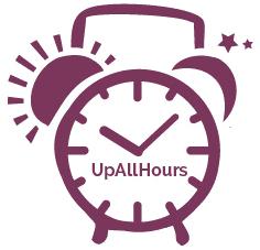 UAH Font Clock