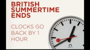 Clock daylight savings