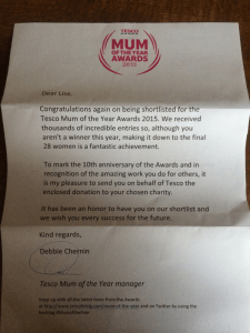 Tesco Mum of The Year Awards