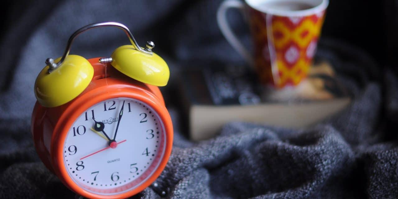 Clock change-start of British Summer time.